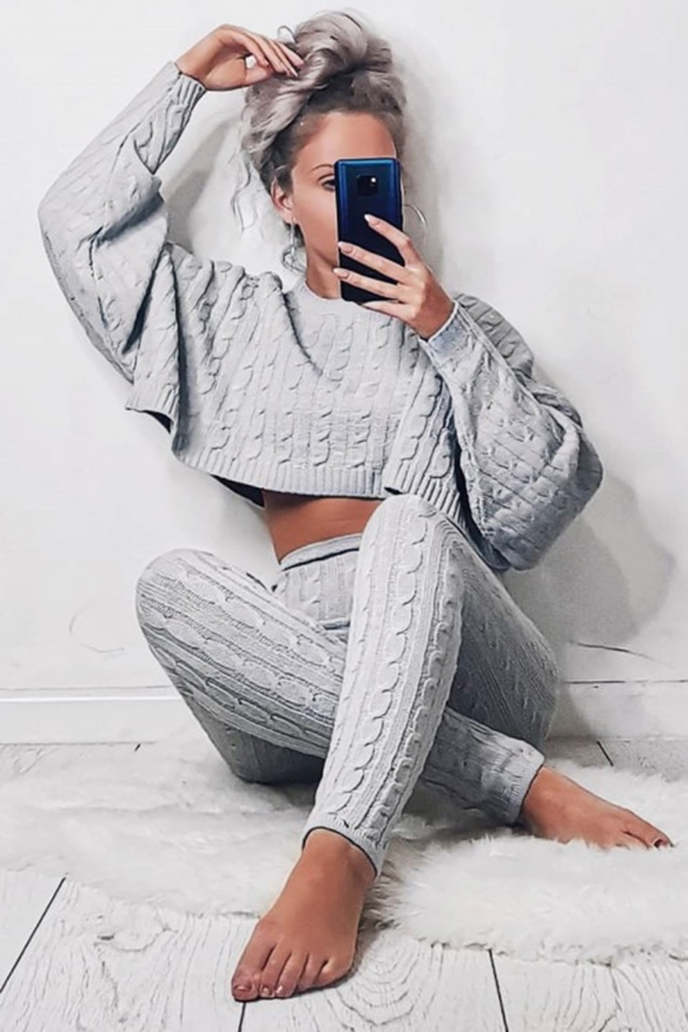 All Day Long Set - Grey