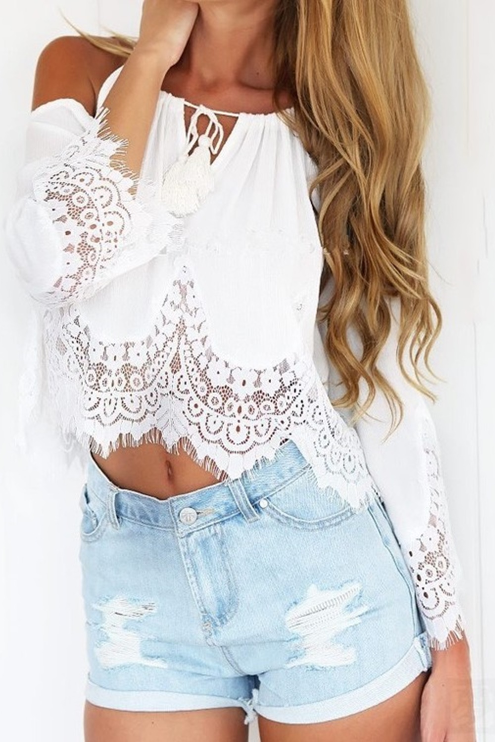 Tamia Top - White