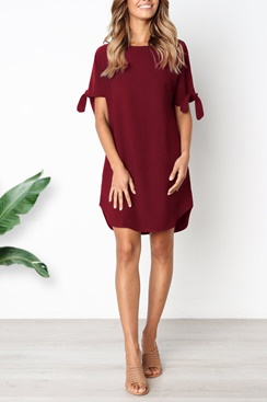 Laurel Dress - Red