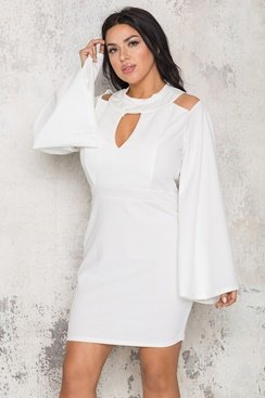 Beverly Dress - White