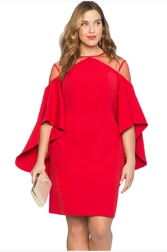Sandy Dress - Red