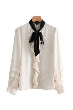 Dana Dot Blouse