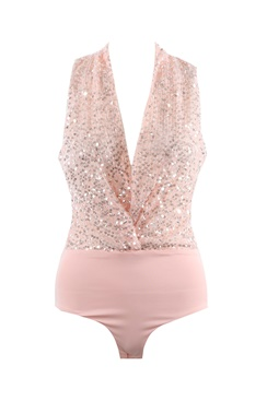 Dynasty Sequin Body - Pink