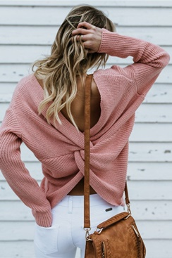 Faith Sweater - Pink