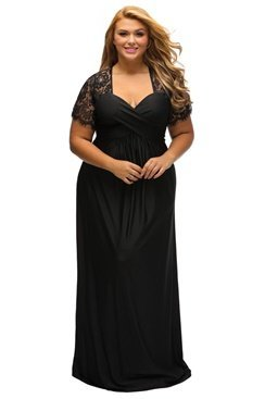 Fiona Maxi Dress - Black
