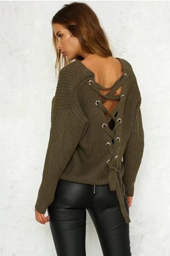 Karla Sweater - Army Green