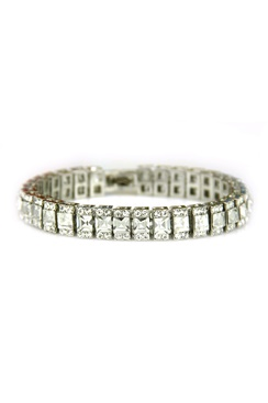 Armband med bling - Silver Ice