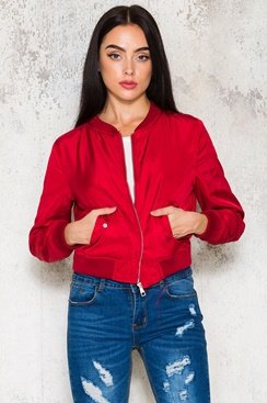 Bam Jacket - Red