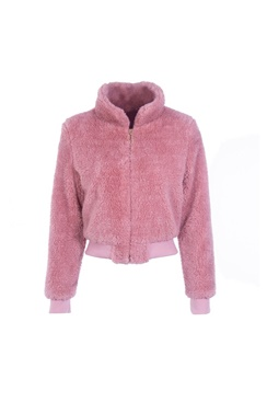 Pink teddy jacket - Dolly