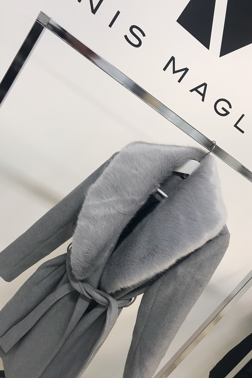 Avenue Coat - Grey