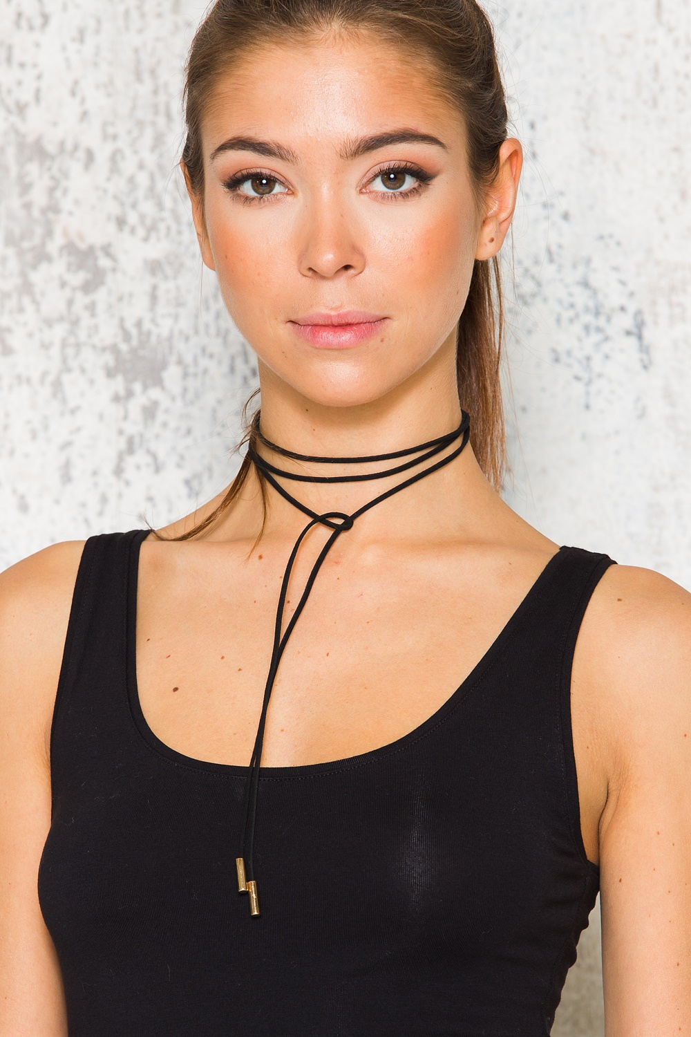 Beverly Choker - Black/Gold