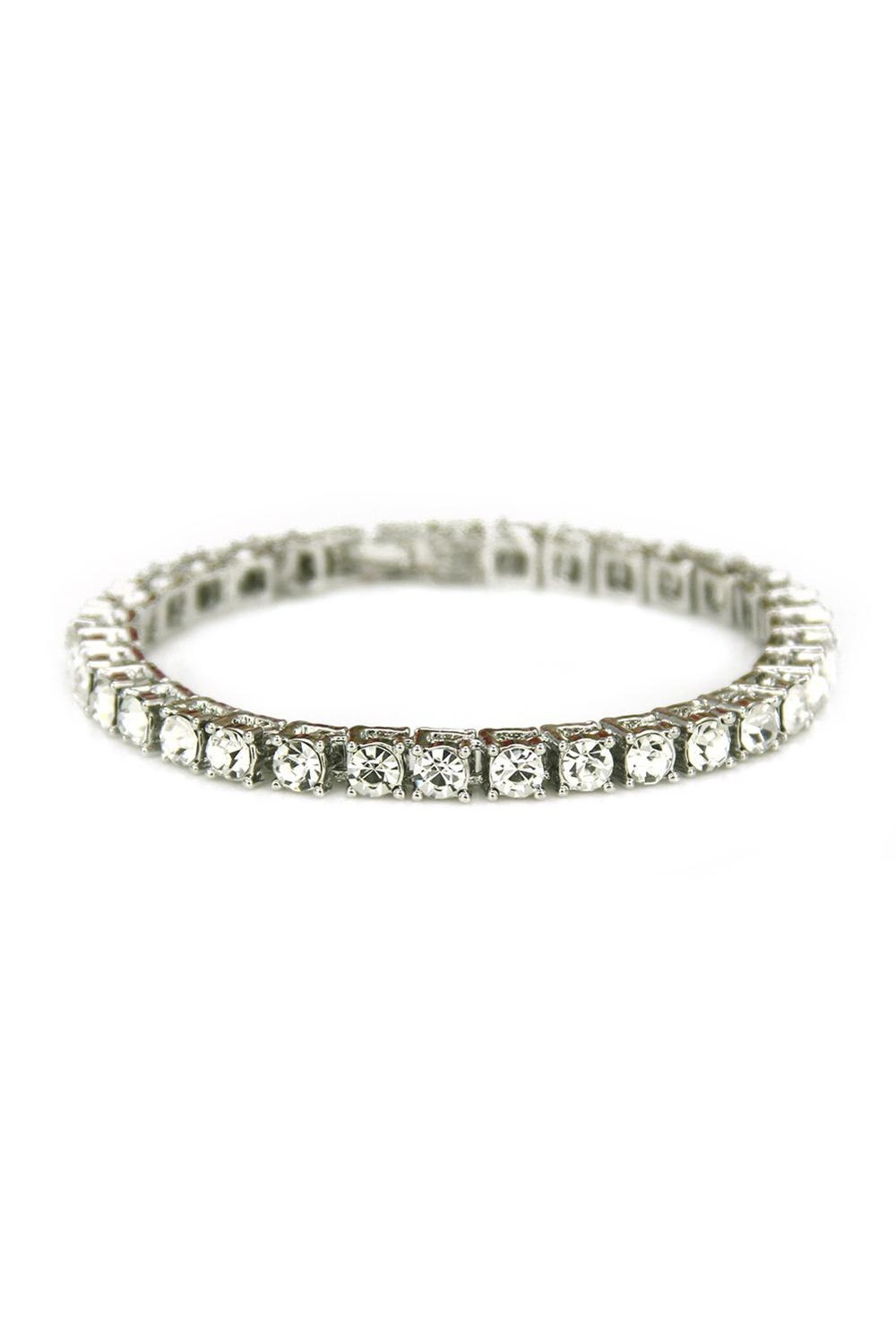 Blingande armband - Royal Platinum