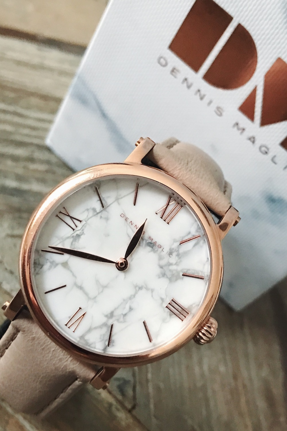 Carrara Marble Watch