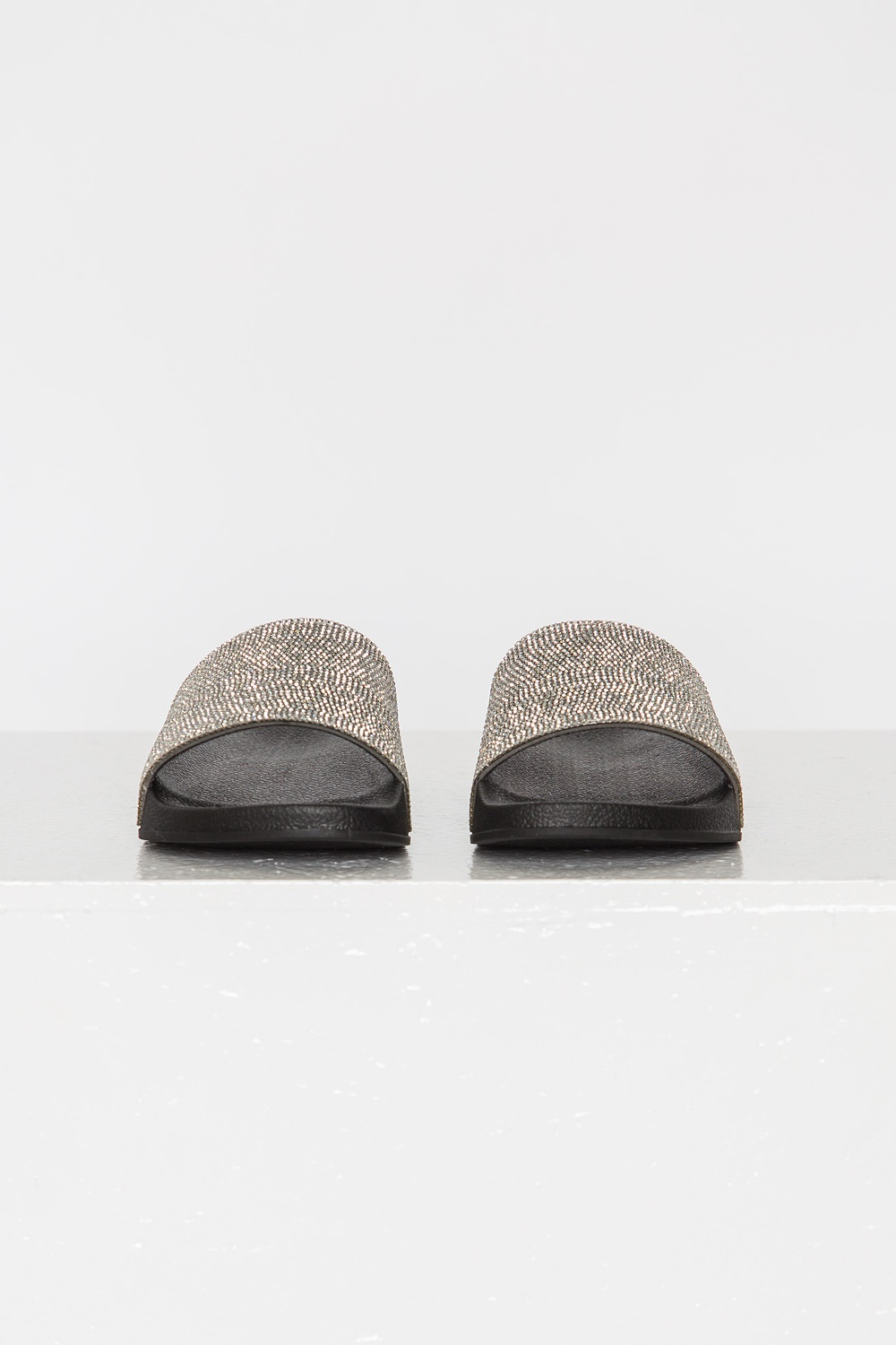 Crystal Slippers - Silver