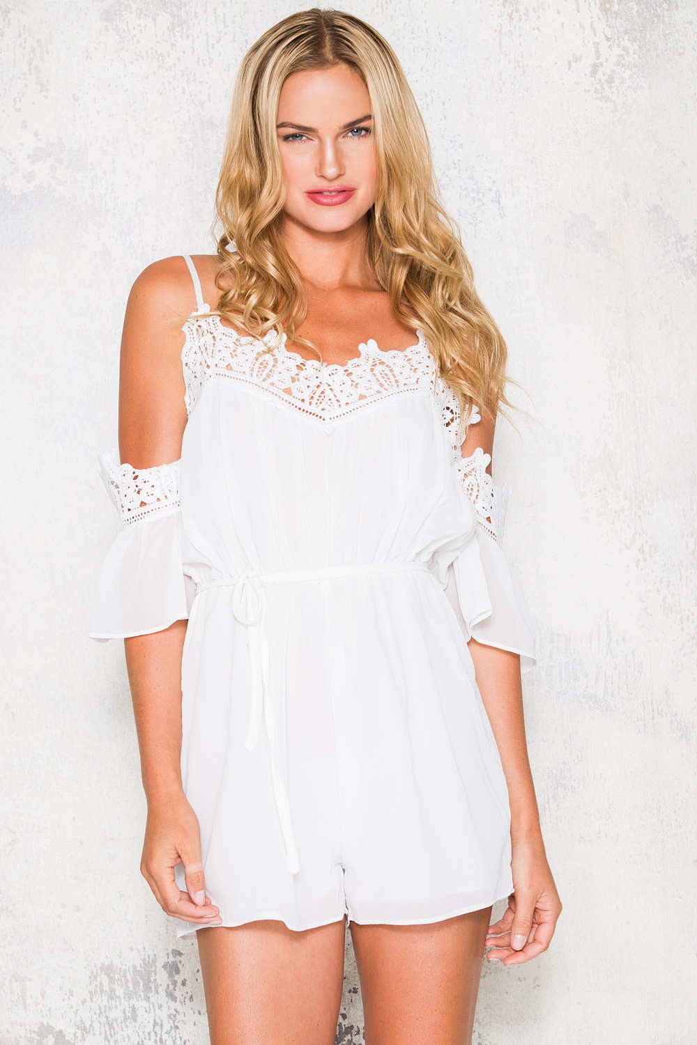 Fenty Playsuit - White