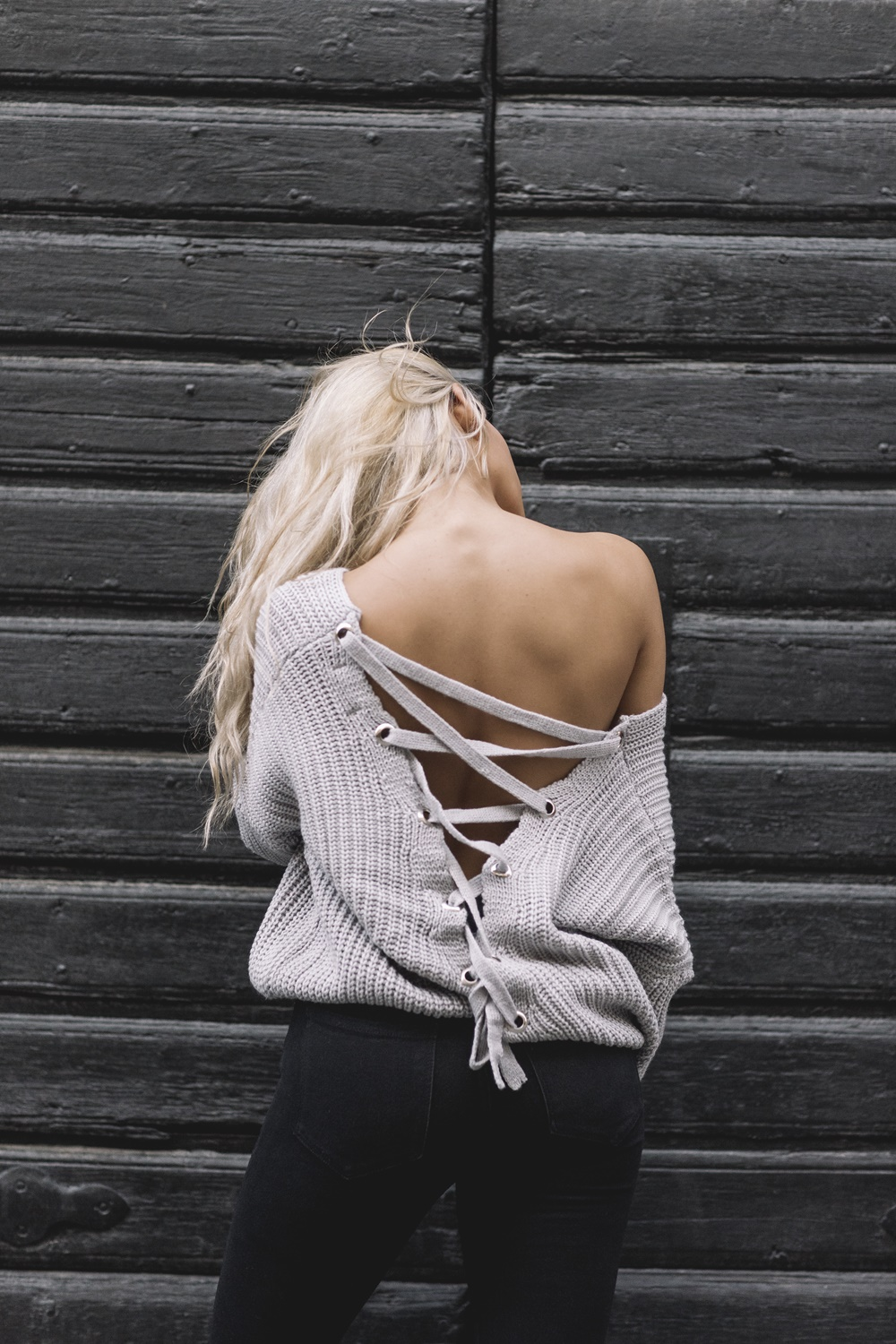 Karla Sweater - Grey