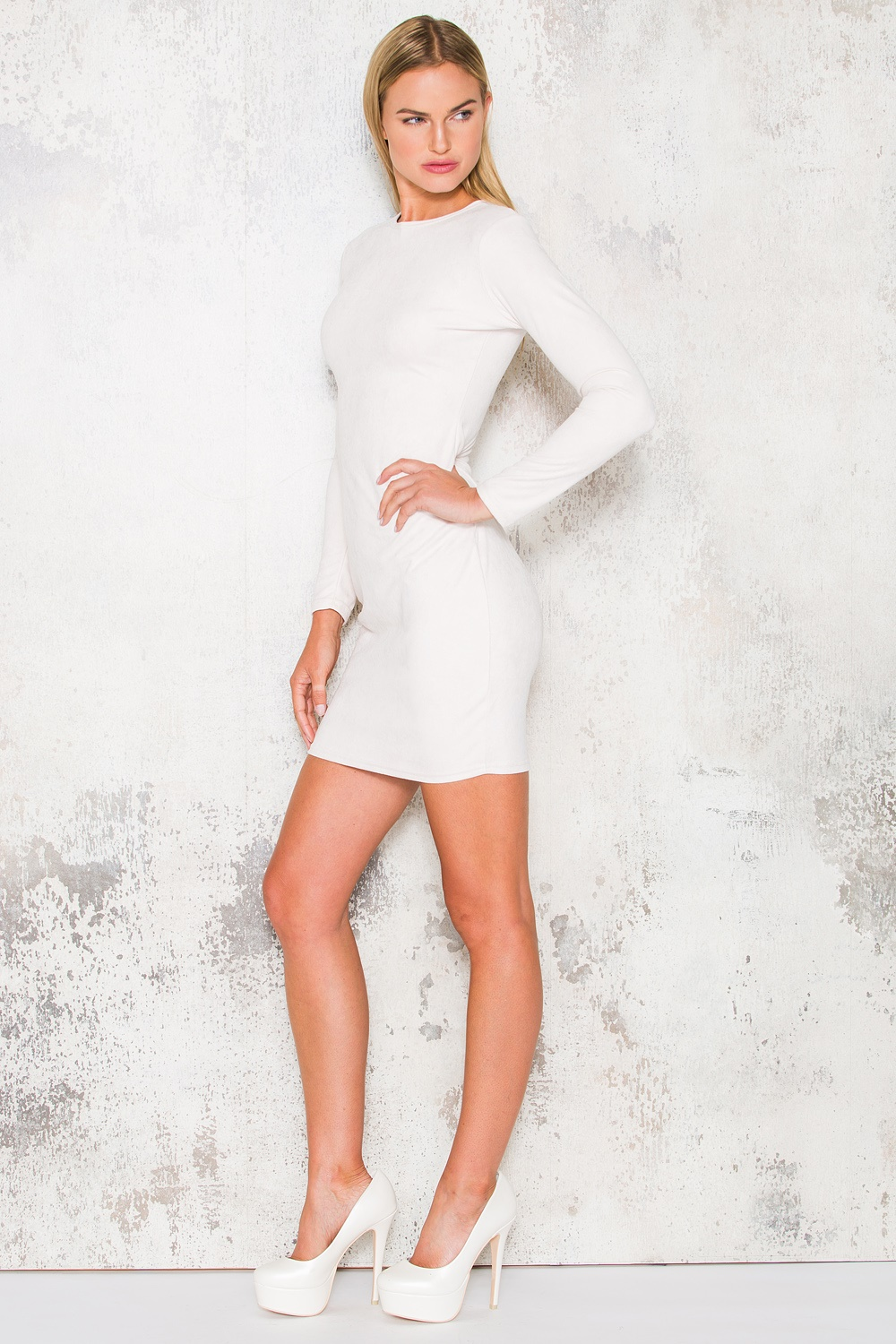 Kylie Dress - Creme White