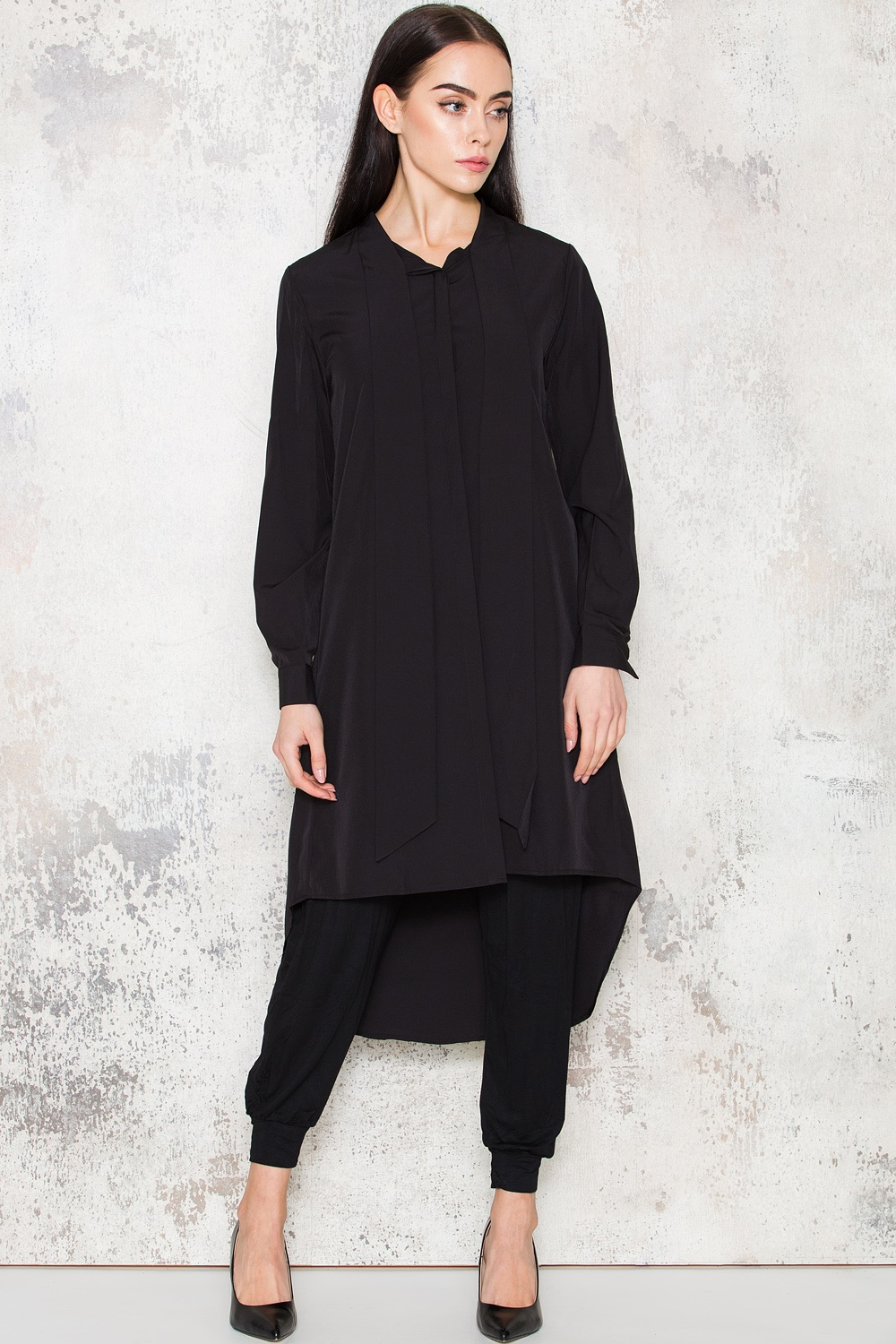 Nora Oversized Shirt - Black
