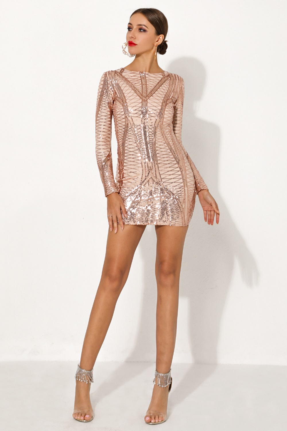 Sequin party dress - Selma