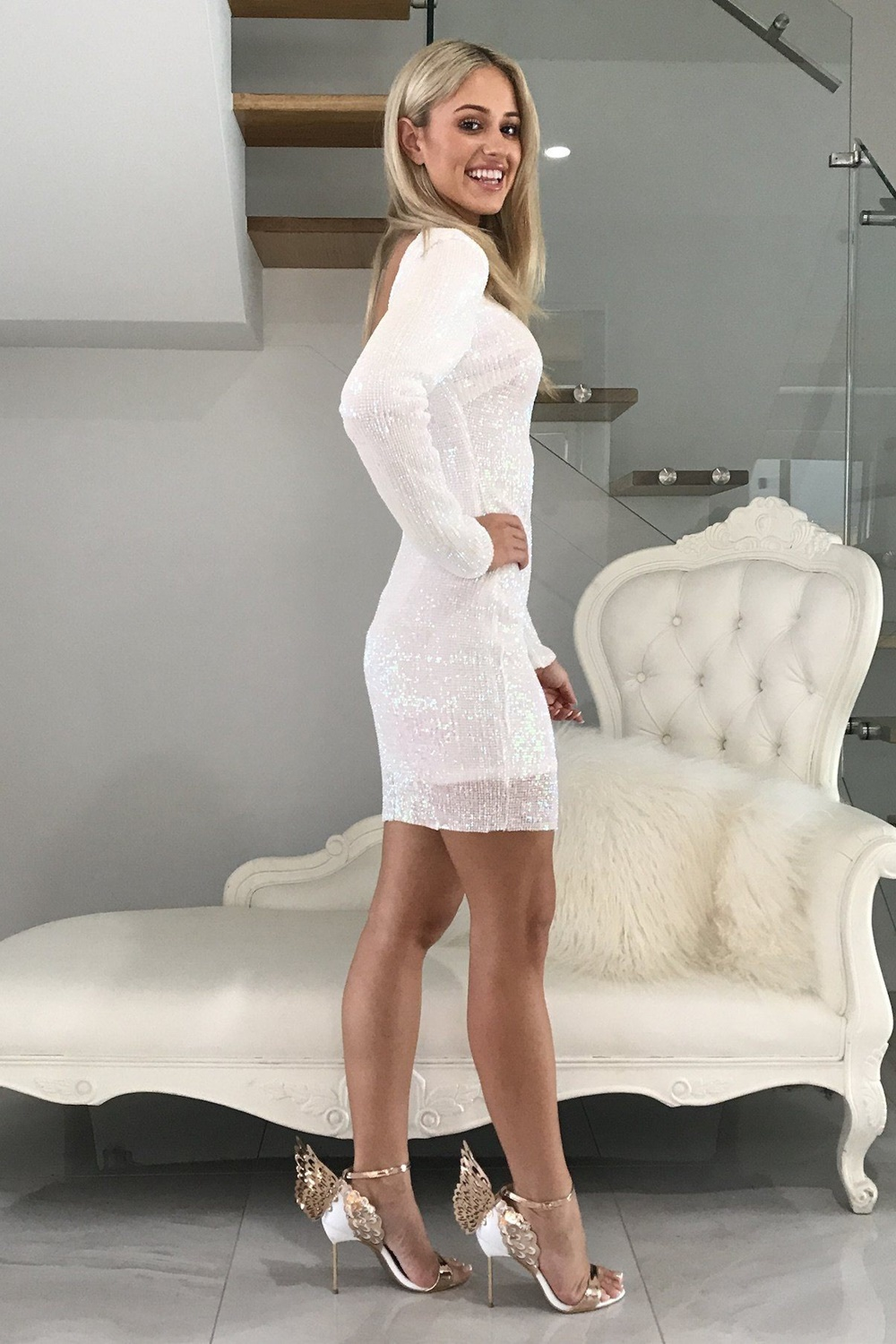 Pearly White Dress
