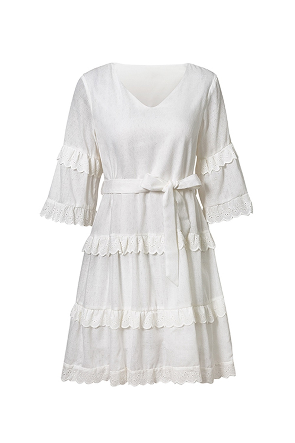 White dress -  Shallow