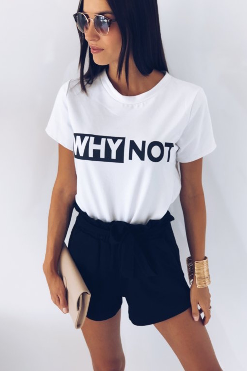 Why Not T-shirt - White