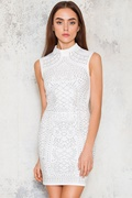 DM Sleeveless Gigi Dress - White