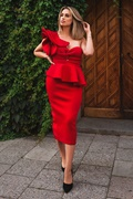 DM Adele Dress - Red