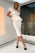 DM Adele Dress - White