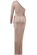 DM Balmie Maxi Dress - Rose Gold