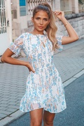 DM Floral print dress - Beachside