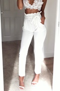 DM Basic Freya Pants - White