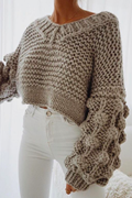 DM Chunky knitted sweater - Margot