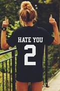 DM Hate You T-shirt - Black