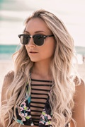 DM Juliette Sunglasses - Black