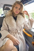 DM Long beige virgin wool coat - New York