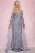 DM Purple Maxi Dress - Fairytale