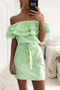 DM Maddie Dress - Lime