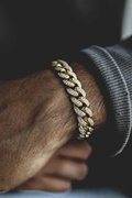 DM MAN Bling bracelet - Cuban King