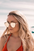 DM Miracle Sunglasses - Rosé