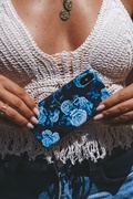 DM Save the Ocean Case for iPhone - Blue Rose