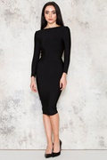 DM Morticia Dress - Black