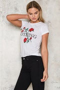 DM Red Roses T-Shirt - White