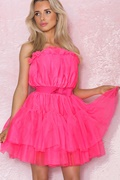 DM Pink dress in tulle - Daphnie