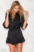 DM Slumber Party Playsuit - Black