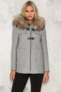 DM Willow Coat - Grey