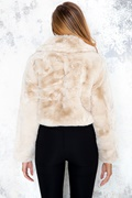 DM Beige jacket faux fur - Canada