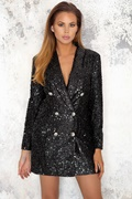 DM Donatella Blazer - Black