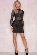DM Fierce Mesh Dress