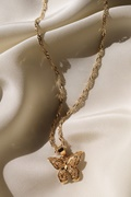 DM Butterfly Necklace - Gold